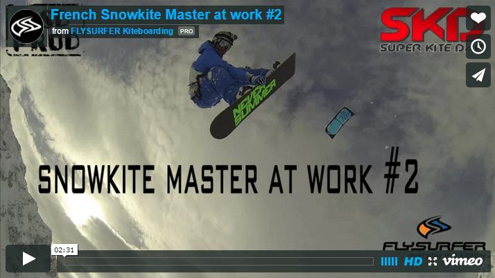 [:es]French Snowkite Master at work #2[:]
