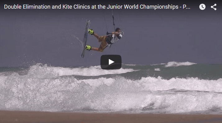 Double Elimination and Kite Clinics at the Junior World Championships - PKRA 2014