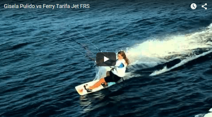 Gisela Pulido vs Ferry Tarifa Jet FRS