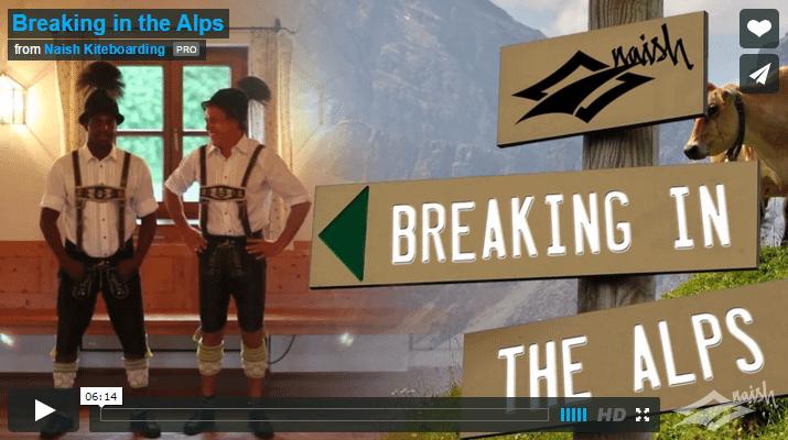 [:es]Breaking in the Alps - Naish Kiteboarding[:]