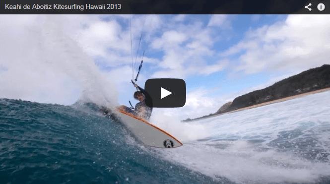 [:en]Keahi de Aboitiz Kitesurfing Hawaii 2013[:]