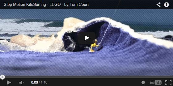 Stop Motion KiteSurfing - LEGO - by Tom Court