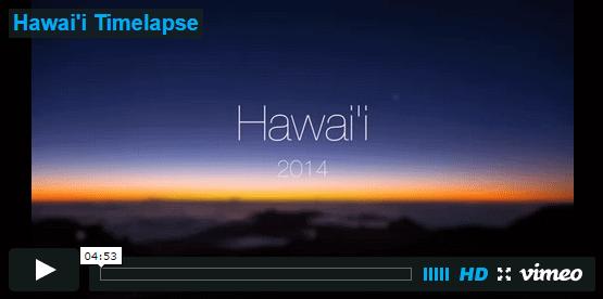Hawai'i Timelapse