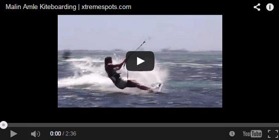 Malin Amle Kiteboarding