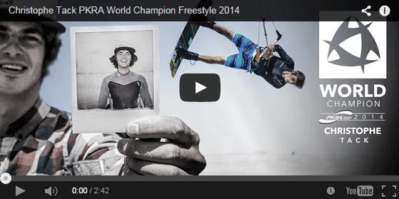 Christophe Tack PKRA World Champion Freestyle 2014 2