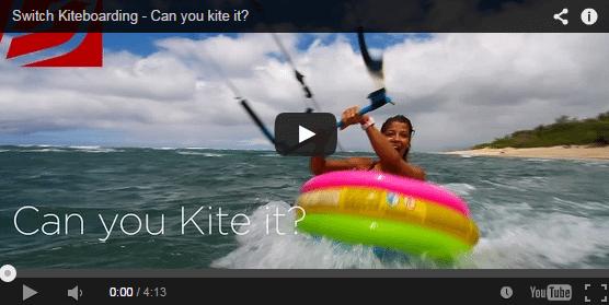 [:es]Switch Kiteboarding - Puedes hacer kite con esto a falta de tabla?[:en]Switch Kiteboarding - Can you kite it?[:]