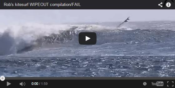 [:en]Rob's kitesurf WIPEOUT compilation/FAIL[:]