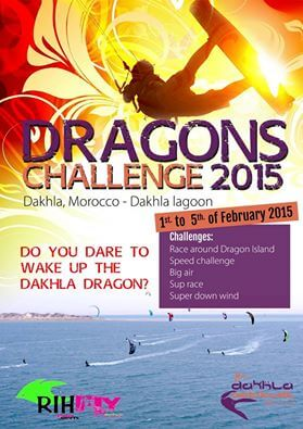 [:en]1st DRAGONS CHALLENGE in Dakhla Attitude Hotel February 2015... JOIN US![:]