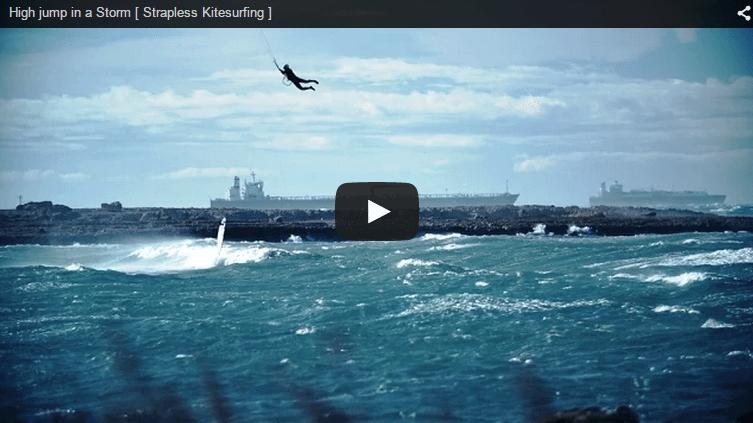 [:en]High jump in a Storm [ Strapless Kitesurfing ][:]