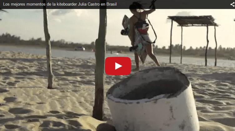 Los mejores momentos de Julia Castro en Brasil