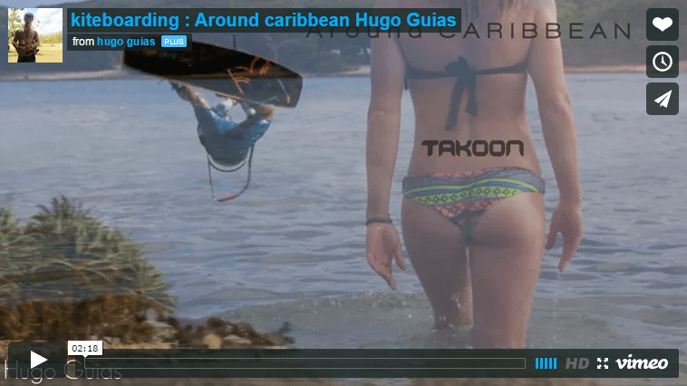 [:en]kiteboarding : Around caribbean Hugo Guias[:]
