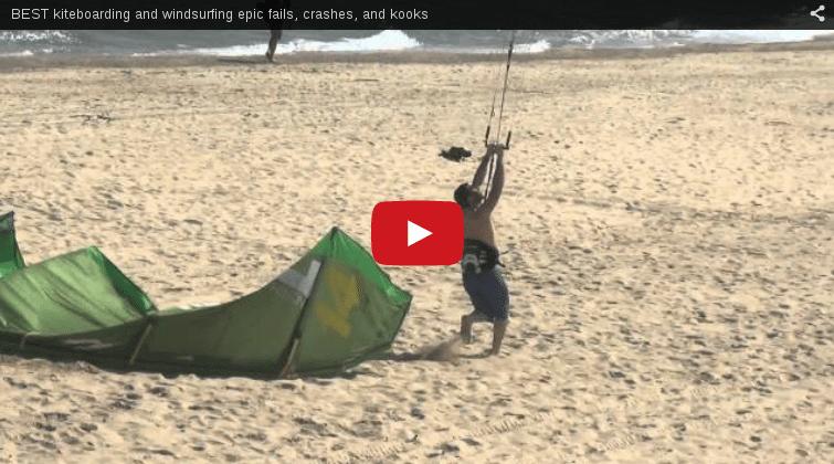 The best kiteboarding crashes