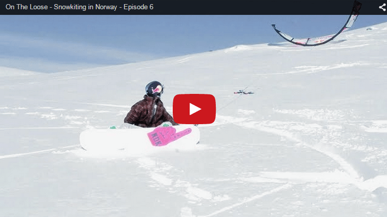 On The Loose - Snowkiting in Norway - Aaron Hadlow and Ruben Lenten
