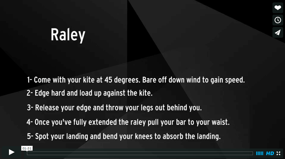 How to do a Raley