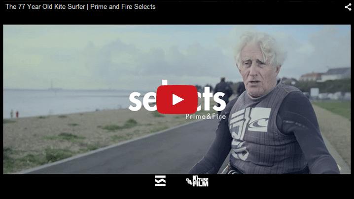 The 77 Year Old KiteSurfer