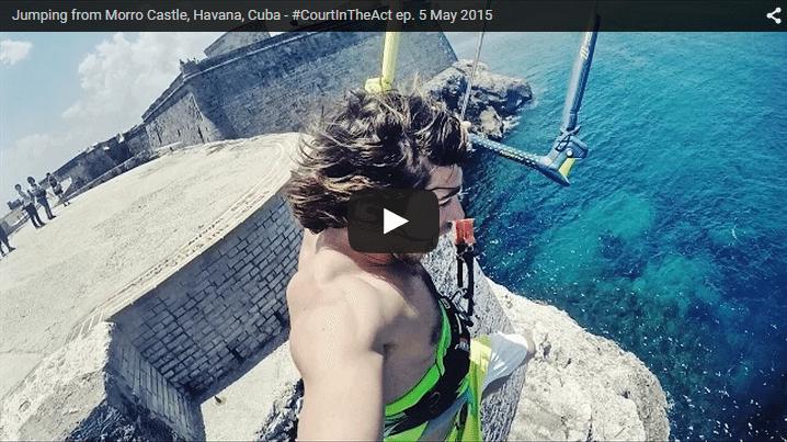 [:en]Jumping from Morro Castle, Havana, Cuba[:]