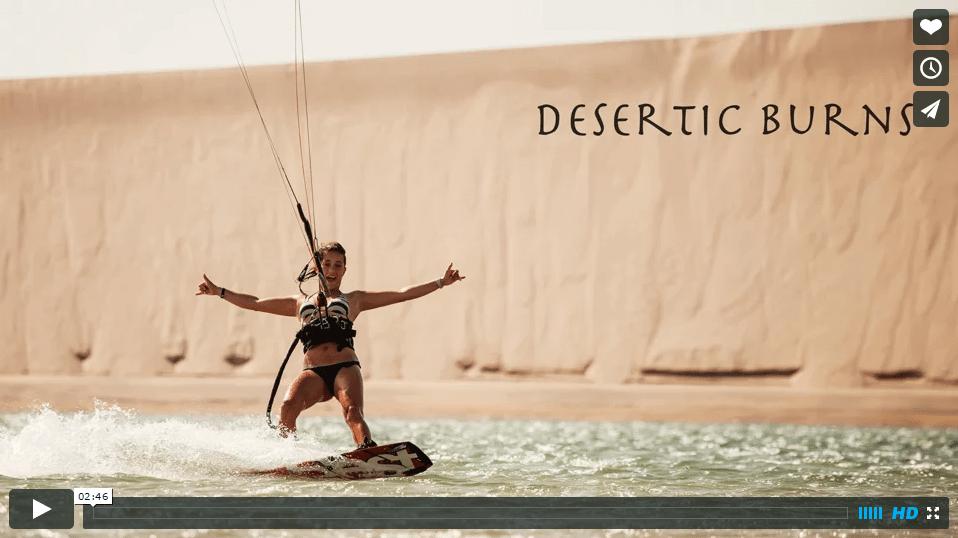Rita Arnaus - Desertic burns - Dakhla