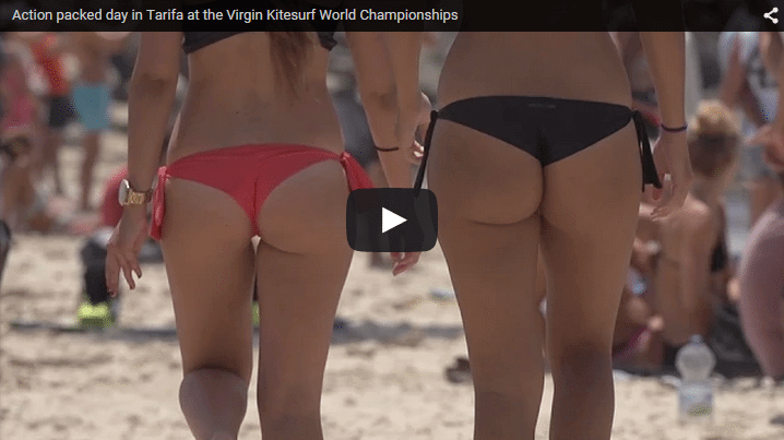 Action packed day in Tarifa at the Virgin Kitesurf World Championships
