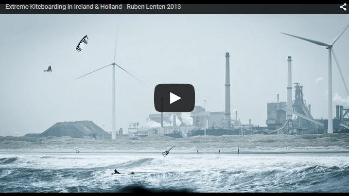 [:en]Extreme Kiteboarding in Ireland & Holland - Ruben Lenten 2013[:]