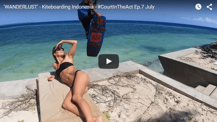 'WANDERLUST' - Kiteboarding Indonesia