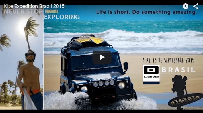Kite Expedition Brazil 2015