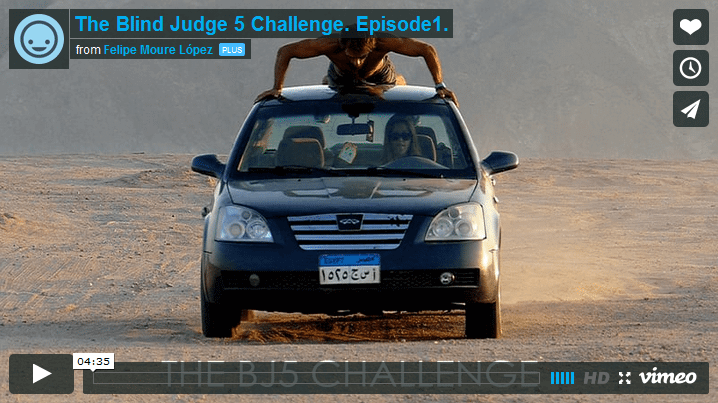 The Blind Judge 5 Challenge by Felipe Moure