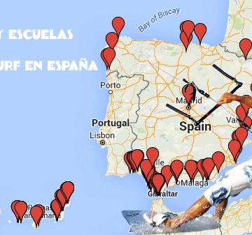 Todas las Tiendas y Escuelas de kitesurf en España[:en]All kitesurfing Stores and Kite schools in Spain