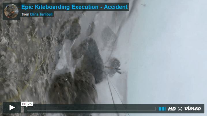 Epic Kiteboarding Accident