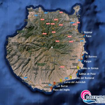 Gran Canaria, un paraíso del kitesurf