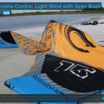 2016 Cabrinha Contra: Light Wind con Sean Buell