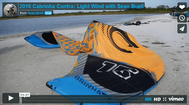 2016 Cabrinha Contra: Light Wind con Sean Buell