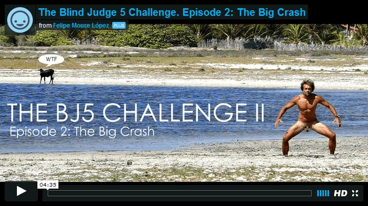 [:es]The Blind Judge 5 Challenge. Episode 2: The Big Crash por Felipe Moure[:]