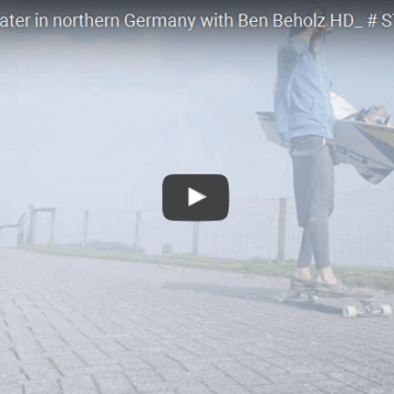 Kiteboarding flatwater in northern Germany with Ben Beholz HD_ # STEEZ N RIDE
