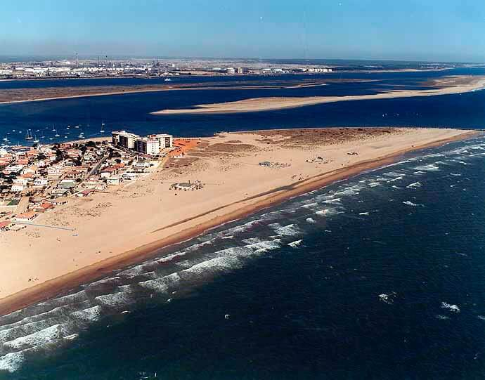 Spot Kitesurf Punta Umbria - Huelva