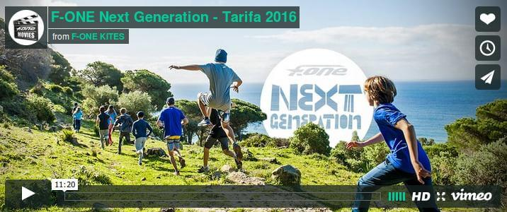 F-ONE Next Generation - Tarifa 2016