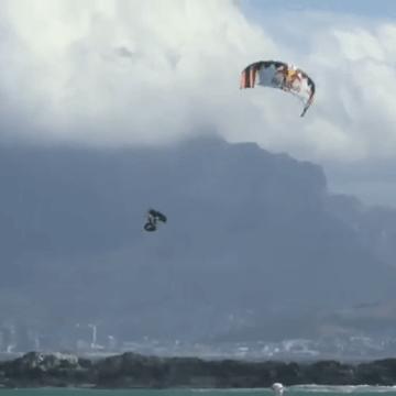 Extreme Big Air, Kiteloops & Crash  2016