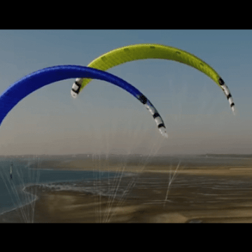 [:es]Peter Lynn Aero Kitesurf hydrofoil race kite[:en]Peter Lynn Aero Kitesurf hydrofoil race kite [:]