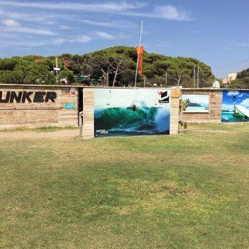 Bunker Castelldefels kitesurf spot buscokite