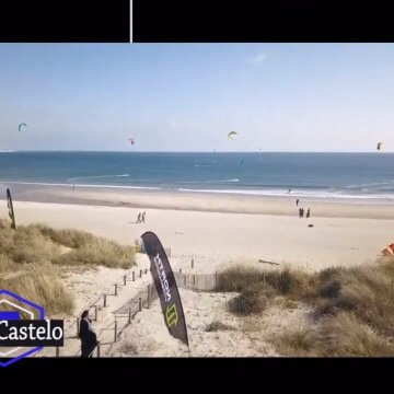 los mejores spots de kitesurf del norte de portugal