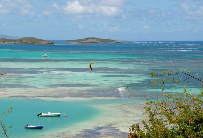 spot kitesurf isla martinica